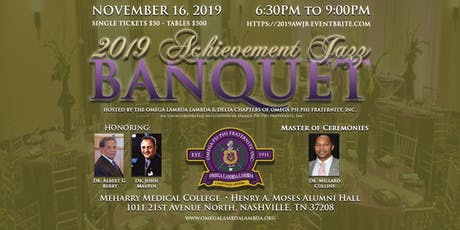 2019 Achievement Jazz Banquet tickets
