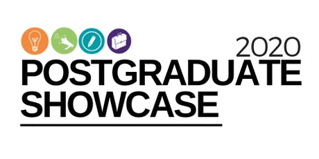 2020 Postgraduate Research Student Showcase Conference tickets