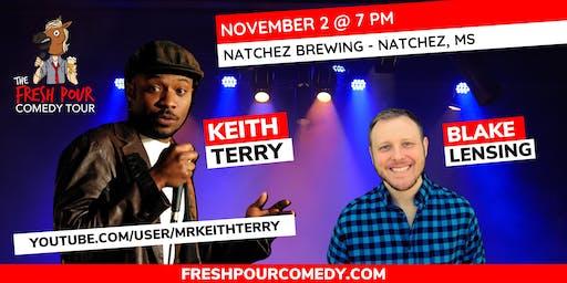 The Fresh Pour Comedy Tour at Natchez Brewing