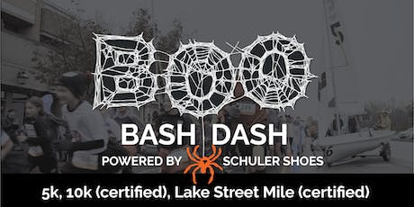 Wayzata's Boo Bash Dash 10k/5k/1 Mile Run 2019 tickets