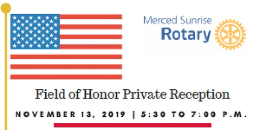 Field of Honor Private Reception - Invitation Only