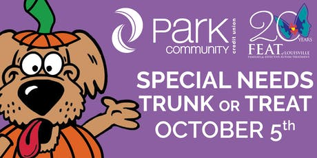3rd Annual Special Needs Trunk or Treat  tickets