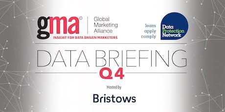 Q4 Data Briefing tickets