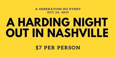 A Harding Night Out in Nashville