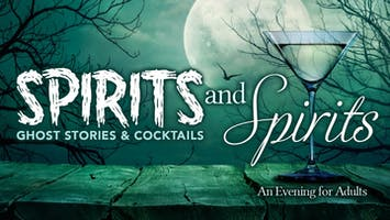 """""""Spirits & Spirits"""" featuring """"The Wicked Library"""""""