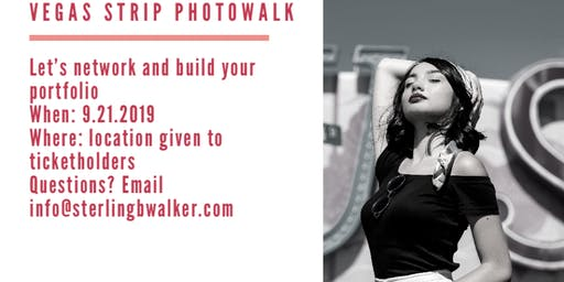 Vegas Strip Photowalk: calling all models, make up artists, and stylists