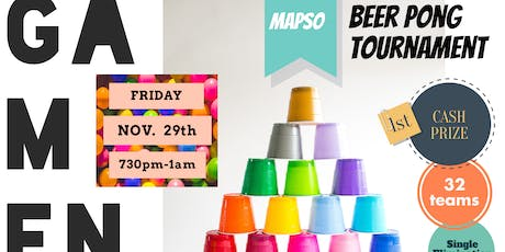 Two Bored Housewives present...MapSo Game Night & Beer Pong Tournament tickets