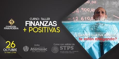 Curso-Taller Finanzas Positivas boletos