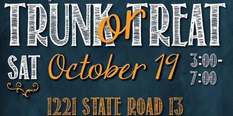 4th Annual Trunk or Treat tickets