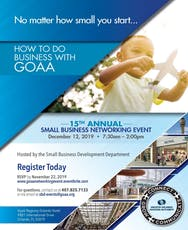 HOW TO DO BUSINESS WITH GOAA - 15th Annual Networking Event tickets