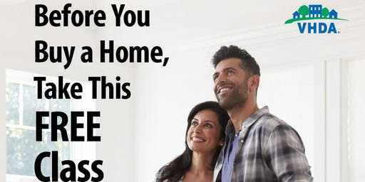 FREE First Time Home Buyer Class