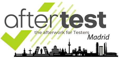 AfterTest Madrid: API testing con karate y Gatling entradas