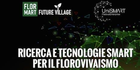 Ricerca e Tecnologie Smart per il Florovivaismo biglietti