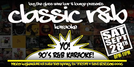 90's R & B Karaoke | Free Food tickets