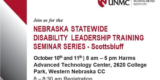 Nebraska Statewide Disability Leadership Training  Seminar Series 2019