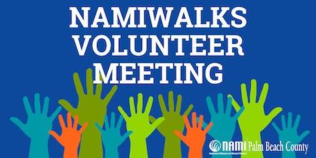 NAMIWalks Volunteer Meeting tickets