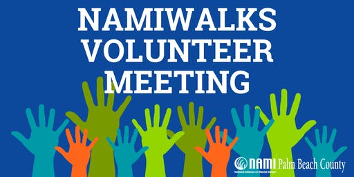 NAMIWalks Volunteer Meeting
