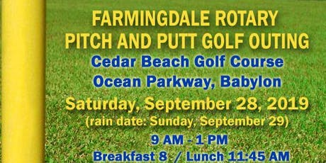 Pitch & Putt Golf Outing tickets