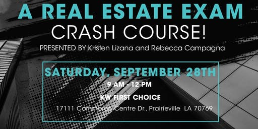 September Keller Williams First Choice Crash Course