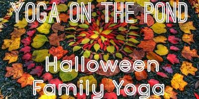 Yoga On The Pond - Halloween Family Yoga