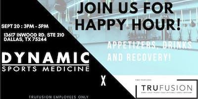 TruFusion x Dynamic Sports Medicine Happy Hour!