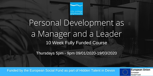 Personal Development as a Manager and Leader 10 Week Course