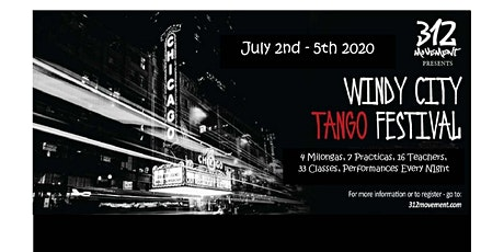 WINDY city TANGO FESTIVAL tickets