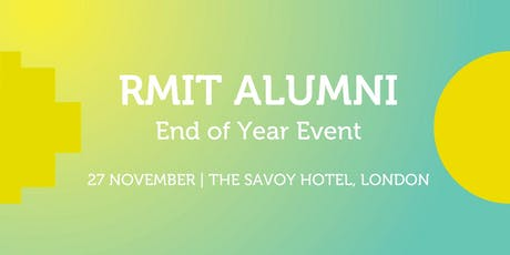 RMIT Alumni End of Year Event tickets