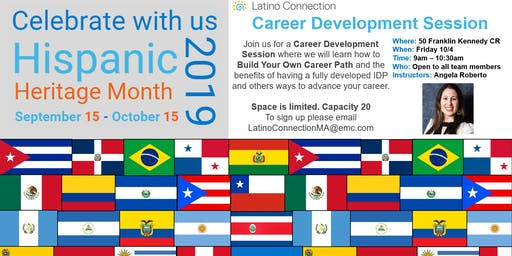 Build your own career Path Sponsored by Latino Connection MA