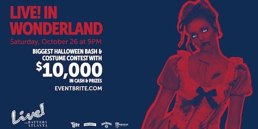 Live! in Wonderland Halloween Celebration