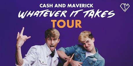 Cash and Maverick tickets