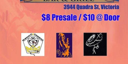 Kings & Cobras, Electric Druids, Mulligan