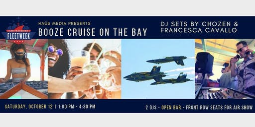 Haüs Media's Fleet Week Open Bar Boat Party (White-Out Theme)