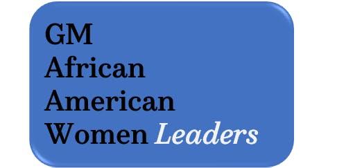 GM African American Women Leaders