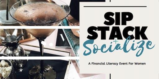 Sip, Stack + Socialize