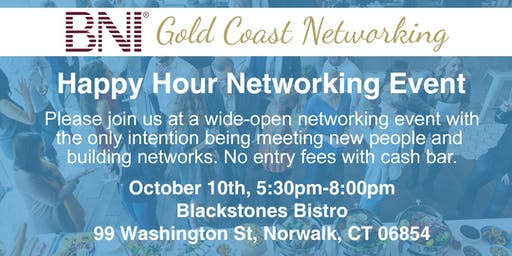 Happy Hour - Networking Event - 10/10/19