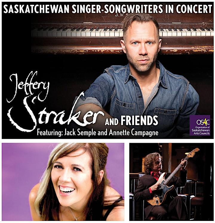 Jeffery Straker & Friends Feat. Jack Semple & Annette Campagne image