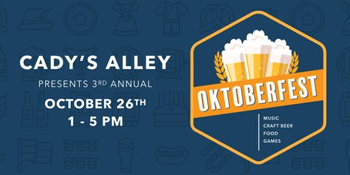 Oktoberfest at Cady's Alley