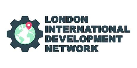October Meet-Up: London International Development Network tickets