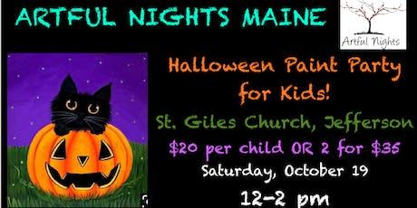 Kids Halloween Paint Party! tickets