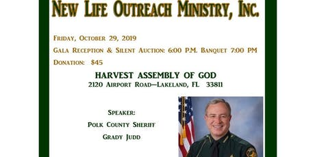 30th Annual Fundraiser Banquet  New Life Outreach Ministry, Inc. tickets