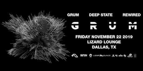Grum - DALLAS tickets