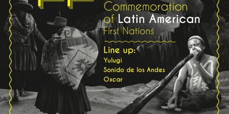 TRENG TRENG Commemoration of Latin American First Nations tickets