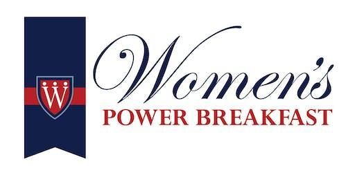 Women's Power Breakfast, October 4, 2019
