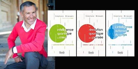 ACCÉDER À LA PAIX DU POINT-ZÉRO Avec Stéphane Drouet, auteur et formateur. billets