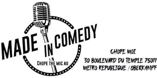 Made in Comedy - Nouveau plateau pour un nouveau bar
