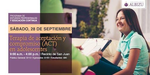EC: Terapia de aceptación y compromiso (ACT) en adolescentes