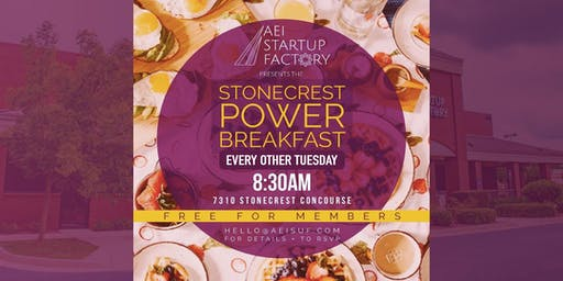 Stonecrest Power Breakfast