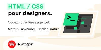 [SPÉCIAL DESIGNERS] Atelier gratuit : Codez votre première page web !