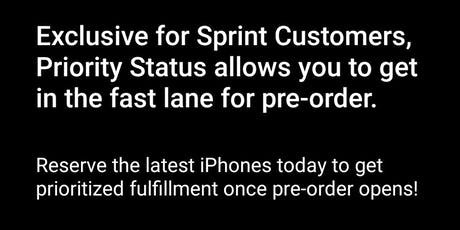 iPhone pre order launch tickets